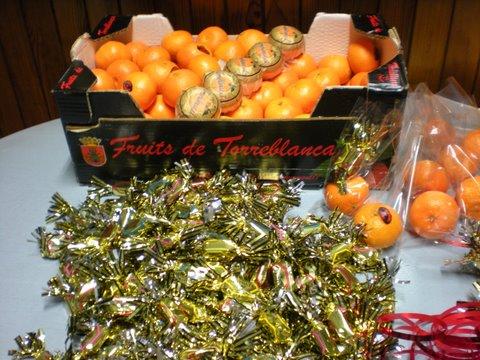 2009 -Préparation papillotes Noël